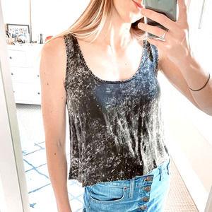🥂 3/$15! Marble Tie Dye Crop Tank Top
